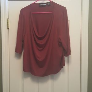 Requirements - Cowl neck blouse